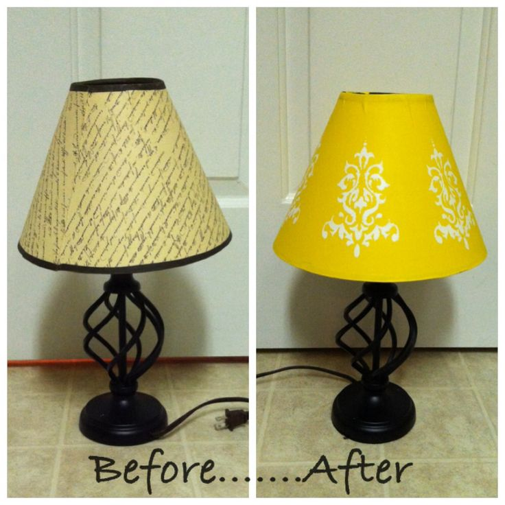 Lampshades Are Expensive Acrylic Paint Is Not Yellow