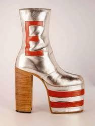 Afbeeldingsresultaat voor donald duck schoenen jaren 70
