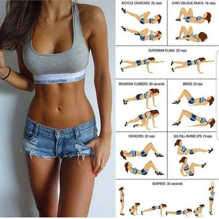 5 beeindruckende Moves zur Herstellung von Titillating Tight getönten Armen und Bauchmuskeln – suingg