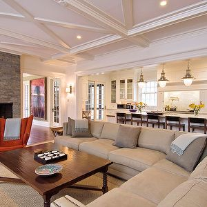 How To Arrange A Sectional In An Open Floor Plan
