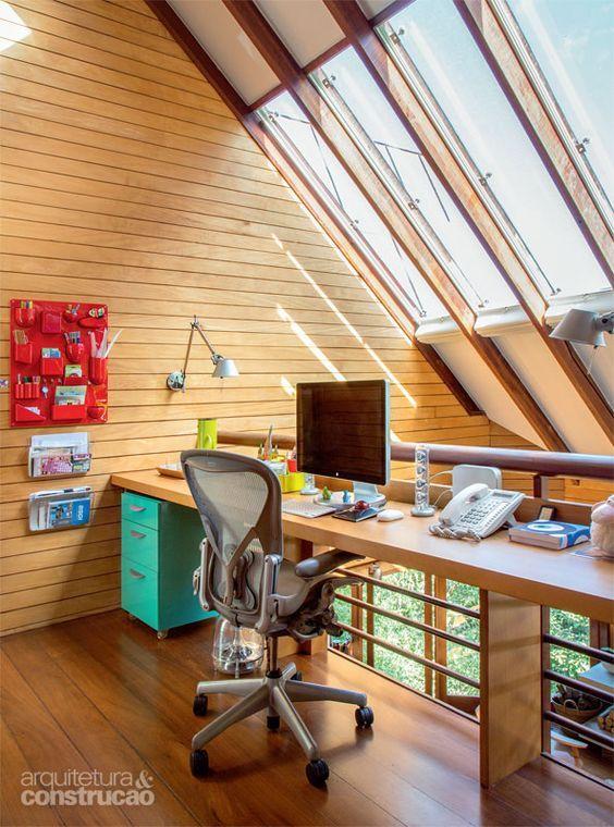Home Office Mit Dachfenster Ideen Bilder | Möbelideen
