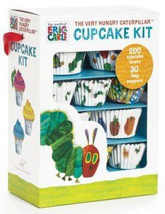Very Hungry Caterpillar Party Cupcake Kit
