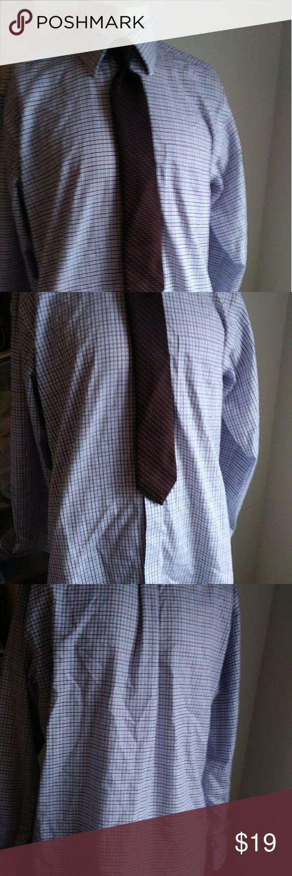 Kirkland non iron shirt Sz 16.5x35 $19 + free gift Kirkland non iron shirt Sz 16.5x35 $19 + free gift a complimentary silk designer necktie Plus any item in this closet price $15 or less. Kirkland no iron Shirts Dress Shirts