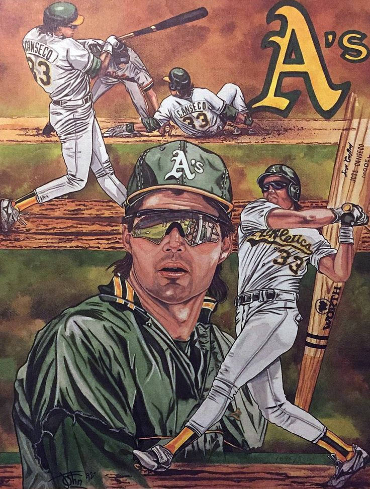 Jose Canseco, Oakland A's, 1992