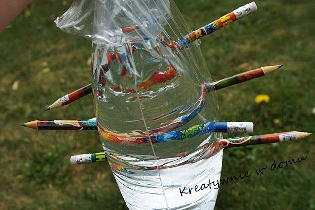 Zaczarowane ołówki czyli wakacyjne piątki z eksperymentami | Kreatywnie w domu