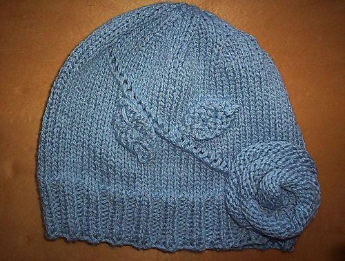 The Elusive Blue Rose Hat