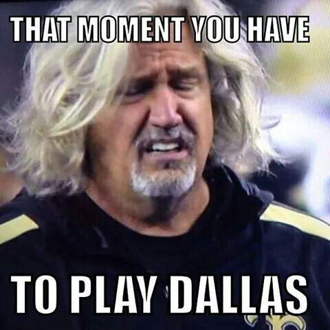 Dallas Cowboys vs. SAINTS
