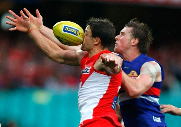 nose, meet grindstone - at the coalface of australian rules football