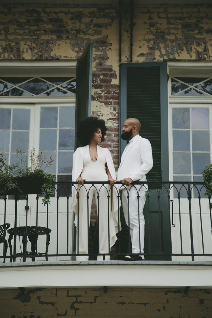 Solange Knowles wedding in Stephane Rolland - Photographed by Rog Walker