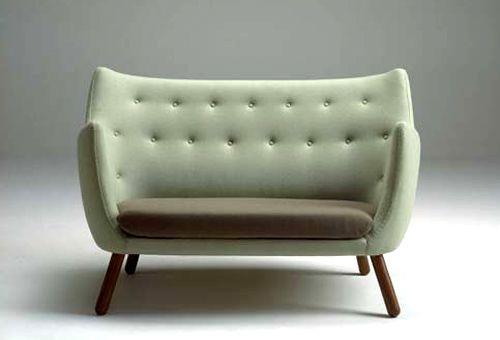 Finn Juhl's 1940's danish furniture design