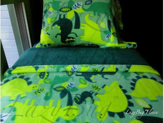 Crib Bedding for boys and girls Toddler Fleece by LazyBugFleece, $150.00