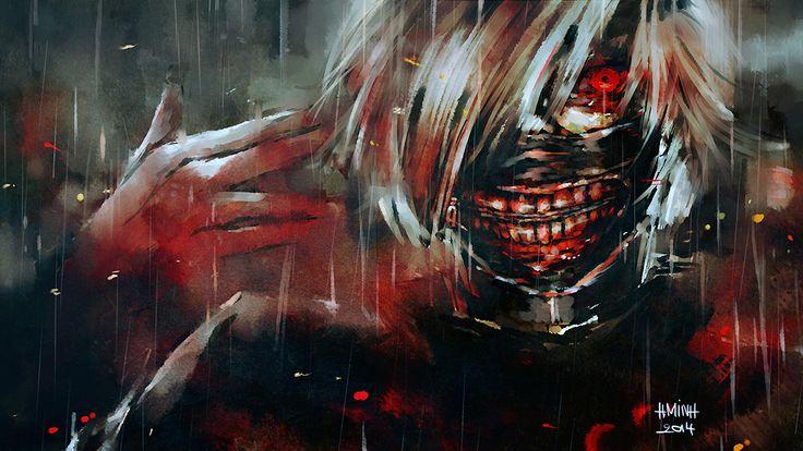 Anime - Tokyo Ghoul  Ken Kaneki Wallpaper