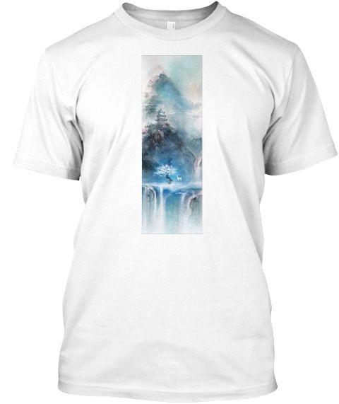 Awaken The Mind #8 White T-Shirt Front