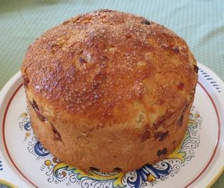 BEFANA CAKE - Befana Cake is traditionally made for the Feast of the Three Kings.   Before the cake is baked, a large dried bean is added to the dough.   ...