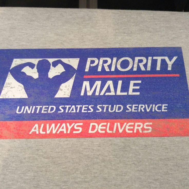Priority Male Tshirt