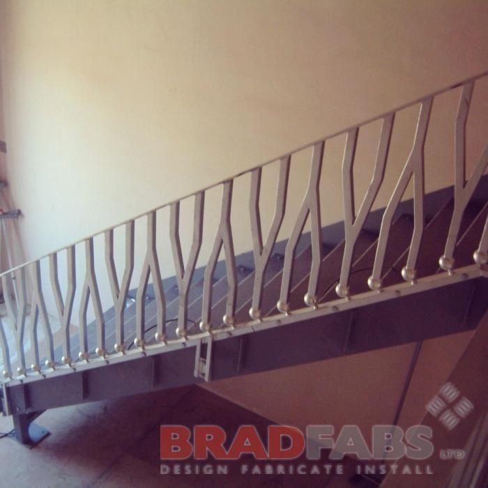 decorative bespoke staircase