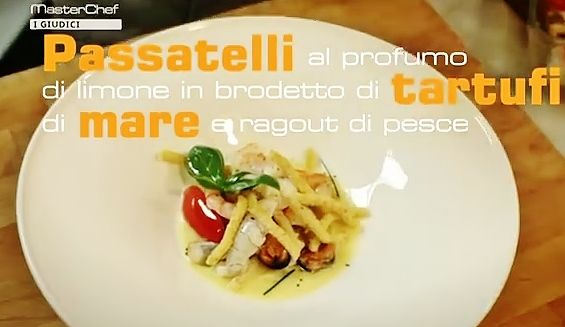 Ricetta passatelli di chef Bruno Barbieri foto via canale youtube di cielotvitalia