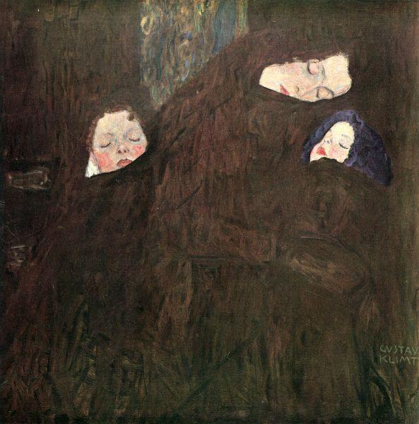 Die Familie / The Family, (1909) - Gustav Klimt - Oil on Canvas