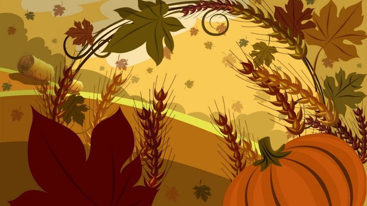 thanksgiving november background