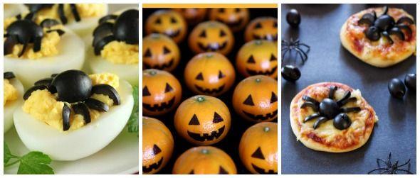 Halloween fai da te: cibi per bambini