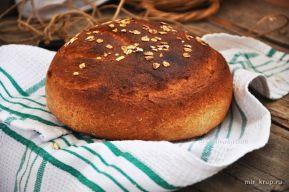 Постный овсяный хлеб