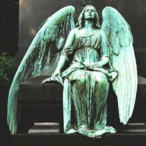 angel verdigris