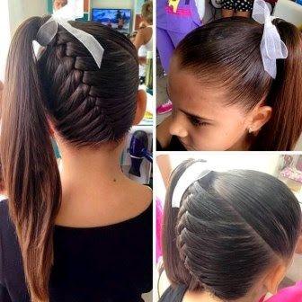 10 Increíbles Peinados que le Puedes Hacer a tus Hijas