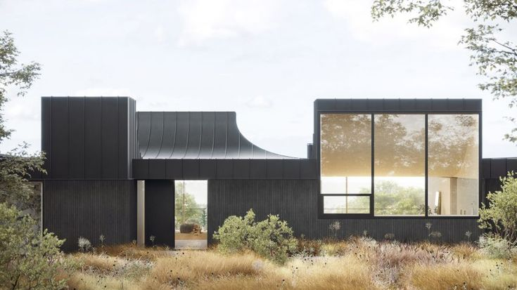 "WOJR envisions highly sculptural ""House of Horns"" for Northern California"