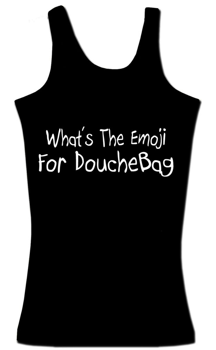 Smartass Sportswear  - What's The Emoji For DoucheBag, $15.99 (http://stores.smartasssportswear.com/whats-the-emoji-for-douchebag/)