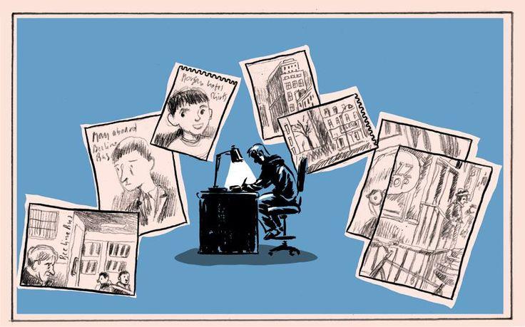 #IlViaggiatoreDistante: #OttoGABOS: «Uno dei tanti problemi dell'#autofiction è quando l'autore disegna se stesso […]. Il disegno dell'alter ego dev'essere uguale al segno dell'autore? […] Sono nato mancino e cresciuto ambidestro così i disegni del mio alter ego […] li disegno con la destra. […] è la mano che va dall'altra è la mente che ordina e guida […]. […] qualche sketch fatto con la destra. […] l'aspetto è […] del lavoro in corso. Il libro nel libro.» | #LaDiligenzaDelSapere…