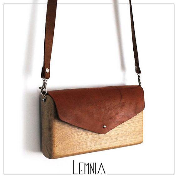 Wooden Handbag by AtelierLemnia on Etsy, €59.00