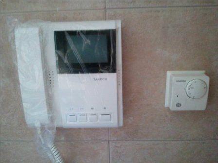 Portero visor a unidad y control de calefacción individual