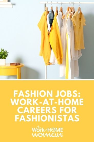 Fashion Jobs: Work-at-Home Careers for Fashionistas