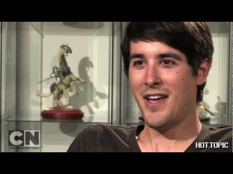 Regular Show Creator J.G. Quintel  Epic!!! So weird to see someone do everything Mordecai like the OOOHH and the Hmhm-hmm ya know?