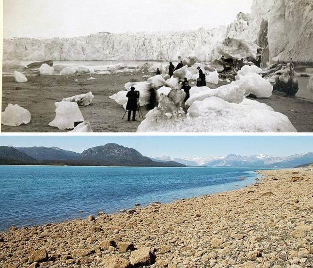 Le recul impressionnant des glaciers d'Alaska en seulement 100 ans