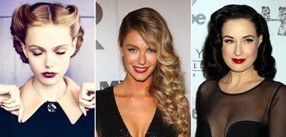 Coafuri 2013, modele inedite pentru Noaptea de Ajun