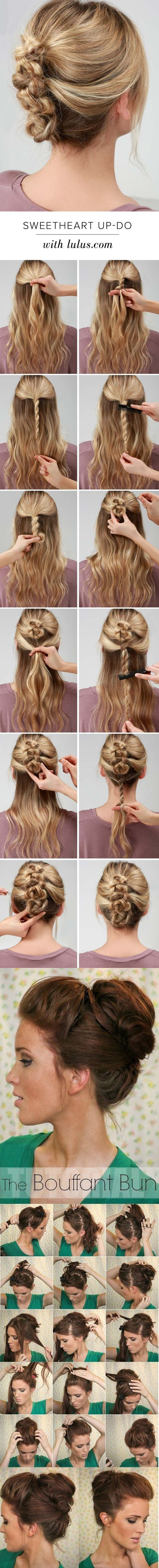 24 Best Frisuren Images On Pinterest Hairstyle Ideas Easy