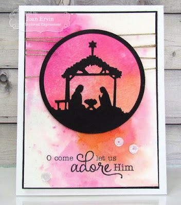 Stamping with a Passion!: Taylored Expressions October Sneak Peeks: Build a Scene-Winter Trees and Away in a Manger