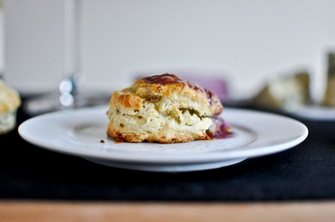 Blue Cheese Biscuits w/Pinot Noir Butter
