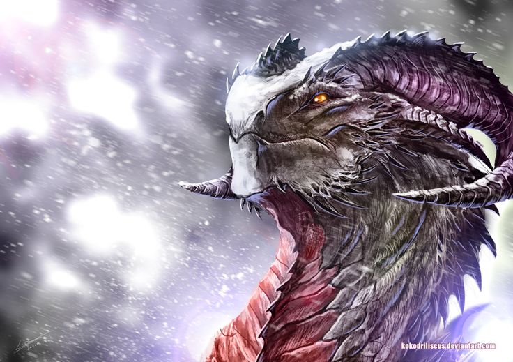 Winter has come to the dragon's territory. My dragon gallery --->kokodriliscus.deviantart.com/g… Follow me on facebook --->www.facebook.com/kokodriliscus