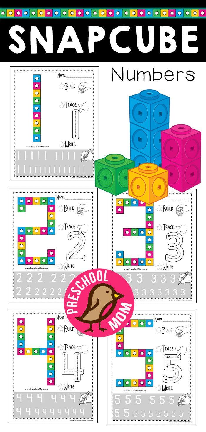 Free Snap Cube Number Worksheets Numbers Preschool Snap Cubes Numbers Preschool Number Worksheets [ 1468 x 700 Pixel ]