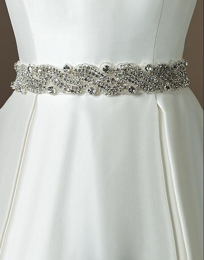 cinturones para vestidos de novia