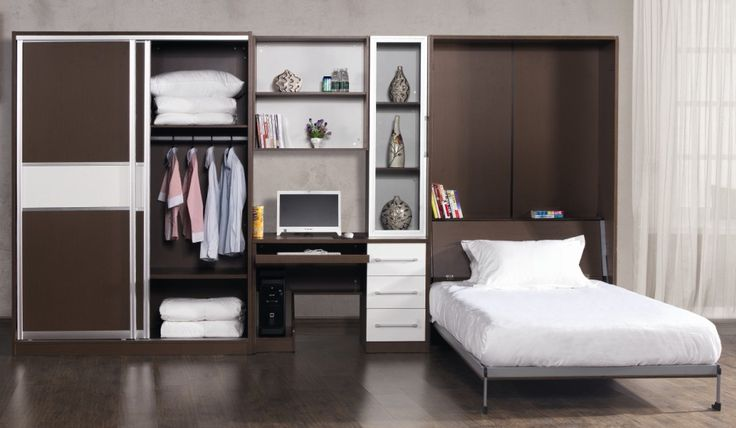 Space Saving Wall Bed Mdf Wall Bed Murphy Bed For Sale