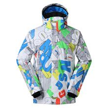 US $115.20 2017 New Winter Snowboarding men's Windproof Waterproof Ski Jackets ropa ski mujer ski suit Breathable Outdoor skiing jacket. Aliexpress product