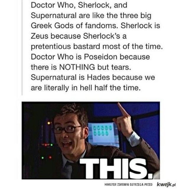 Being a Doctor Who nerd and a Greek Mythology nerd, this speaks to me.