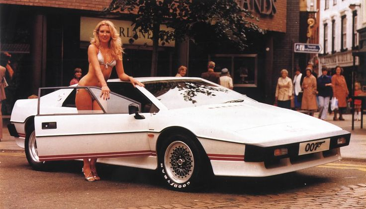White Lotus Esprit Turbo, The car used in one of the James Bond movies (with Roger Moore). This one you like or you don't >> I am a liker!