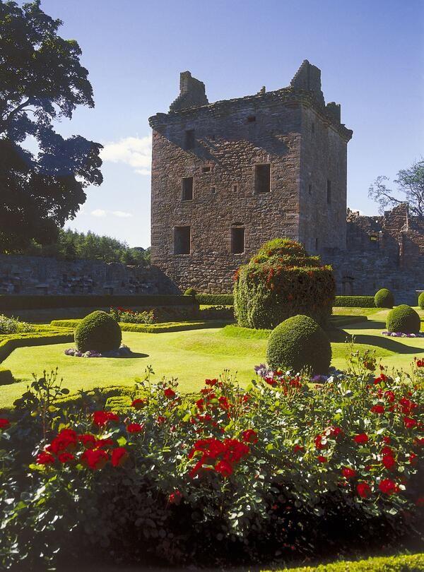 Edzell Castle Scotland