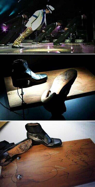 Os mágicos sapatos de Michael Jackson
