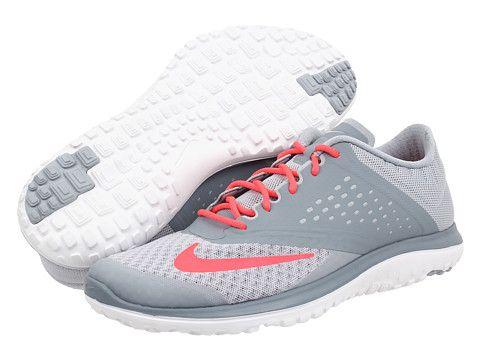 Nike FS Lite Run 2 Light Magnet Grey/Magnet Grey/White/Hyper Punch. Running  Shoes ...