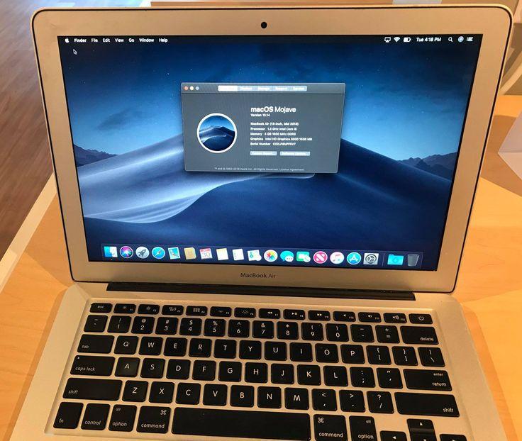 Apple macbook air 13inch 600 year mid 2013 processor 1